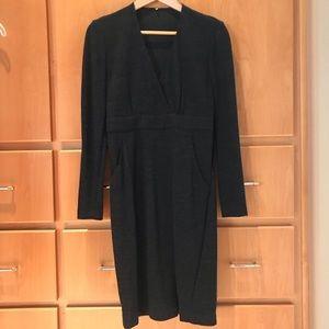 All-season virgin wool dress